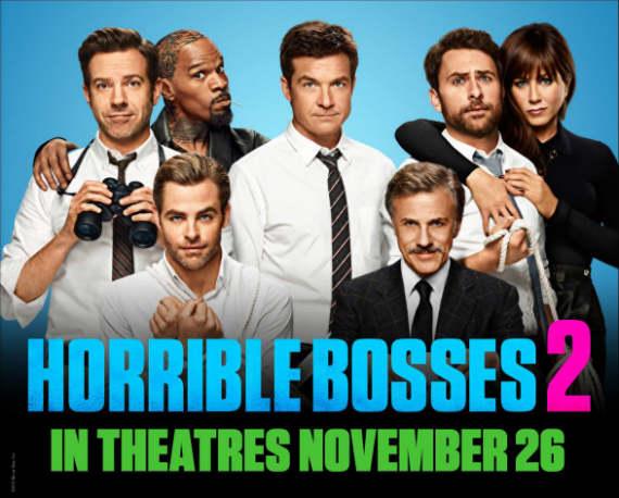 Siaubingi bosai 2 / Horrible Bosses 2 (2014)