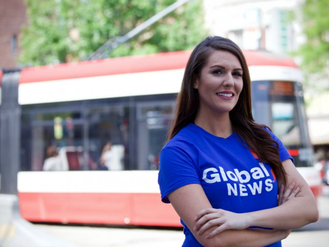 How I Landed A Job at Global News… Immediately After School